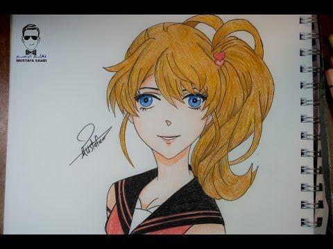 How To Draw By Mustafa Saadi Drawings Art Anime