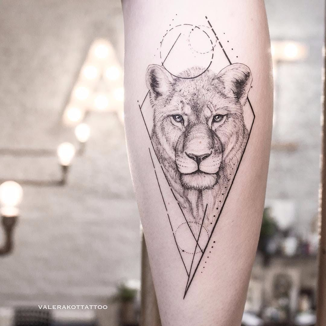 Lioness By Valerij Shatalov Valerijshatalov Fineline Linework Dotwork Illustrative Lioness Lion Animal Cat Di Lioness Tattoo Shape Tattoo Lion Tattoo
