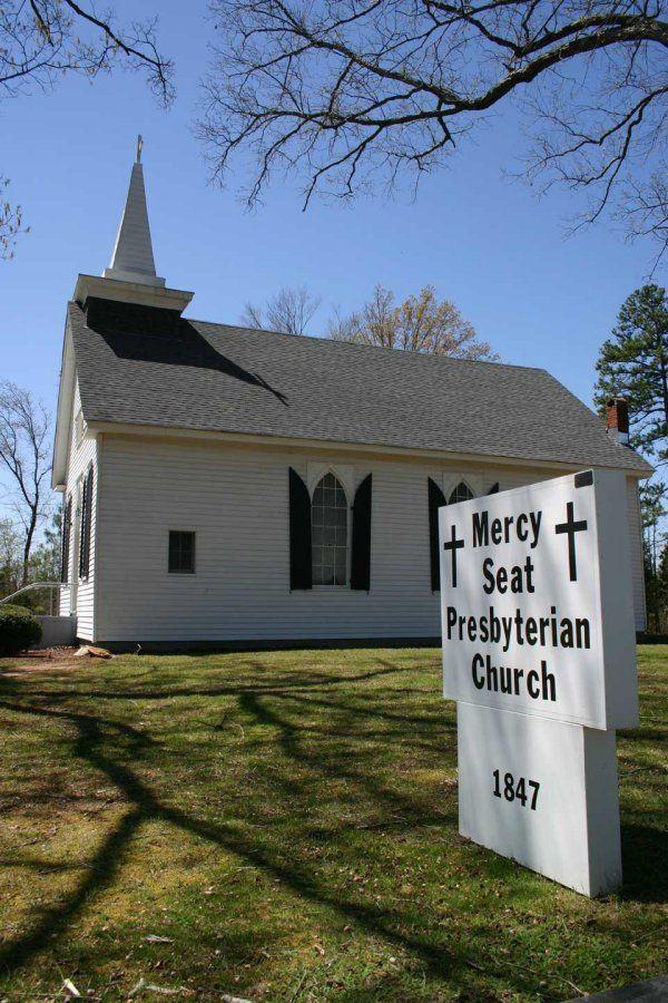 Mercy Seat Presbyterian Church Which Was Organized In 1847 South Boston Va Halifax Presbyterian Mercy Seat