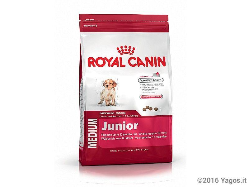 Alimento per cani medium junior royal canin cibo per