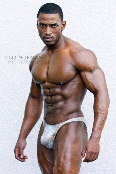 muscle Sexy black male