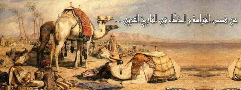 من قصص الفراسة و الذكاء في التاريخ العربي Art Painting