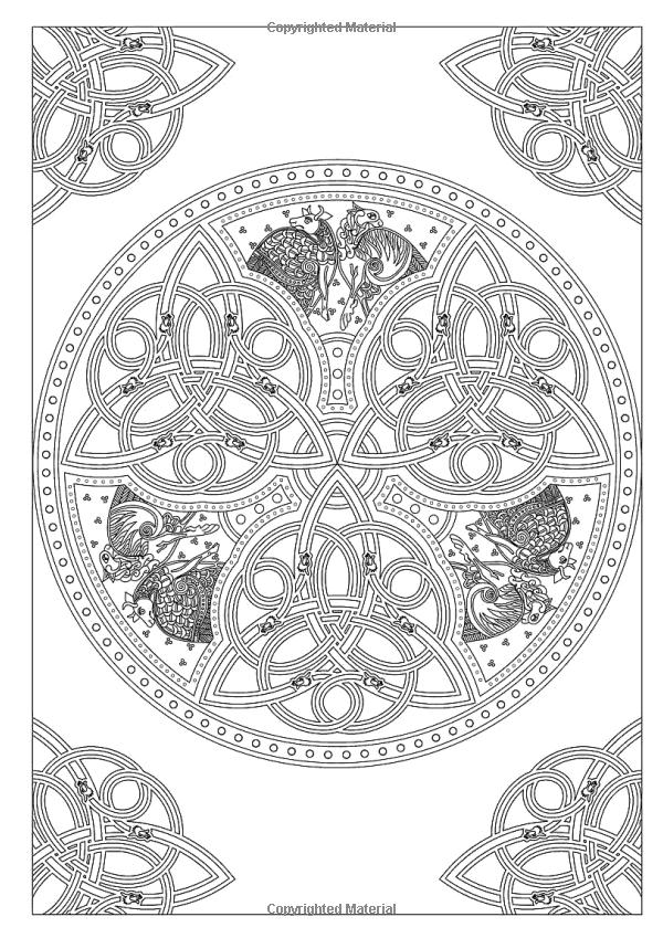 iColor quot Celtic quot iColor quot Celtic quot Mandala Coloring Pages