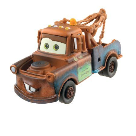 Disney Pixar Cars 3 Mater Die Cast Vehicle Walmart Com With