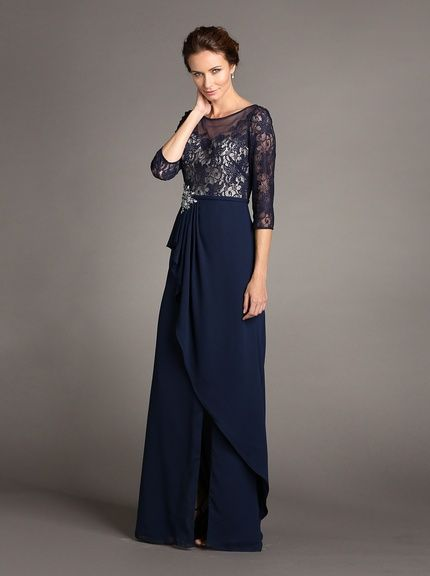 Terani Couture Womens Cap Sleeve Gown, http://www.myhabit