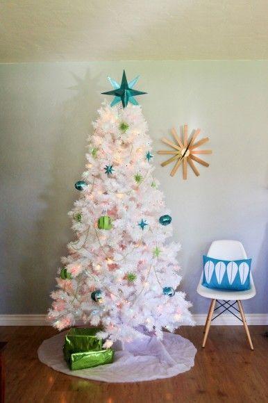 Image By Marissa Schibilla Mid Century Modern Christmas Shell Chair On Dowe Mid Century Modern Christmas Modern Christmas Tree Retro Christmas Decorations