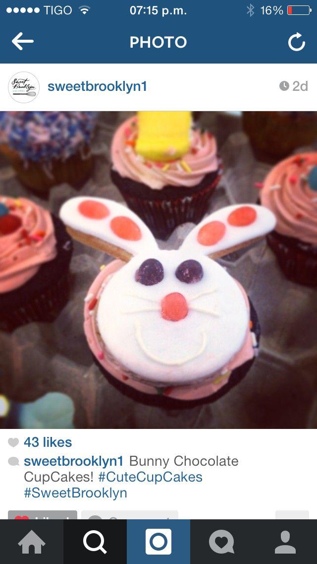 Easter cupcake @SweetBrooklyn1
