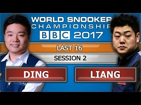 Ding Junhui 丁俊暉 v Liang Wenbo 梁文博 ᴴᴰ World Snooker Championship 2017 L16 Session 2 - YouTube