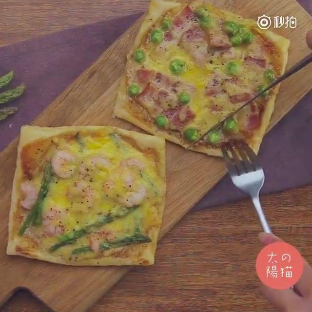 60秒學會假裝披薩的酥皮派!看著看著就食慾大開了