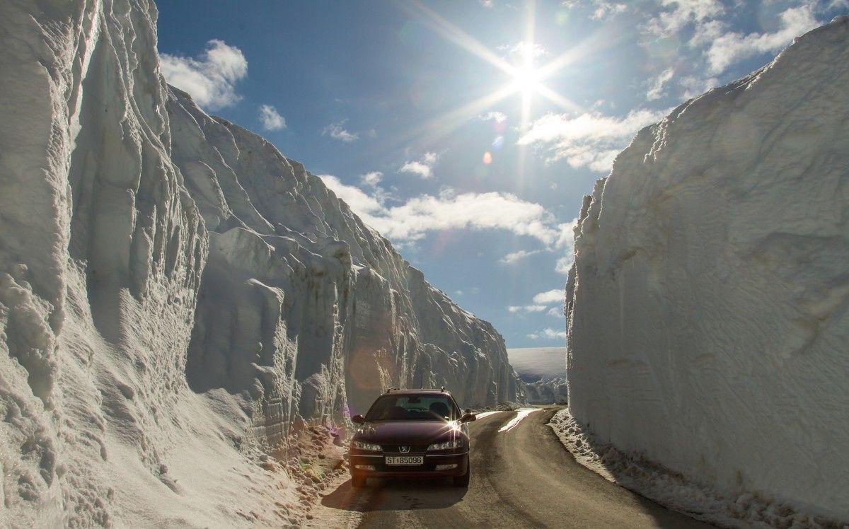 Her er det tolv meter snø - Hordaland