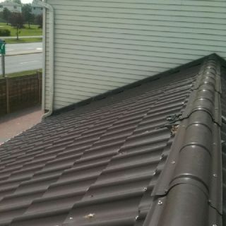 Aluminum Roof Repair And Mesh Installation To Avoid Problems With Wild Animals Ajax On 1 855 Wanna Reno Www 1855wan Aluminum Roof Roof Repair Installation