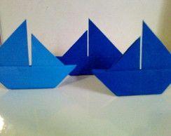 Barquinho de Origami