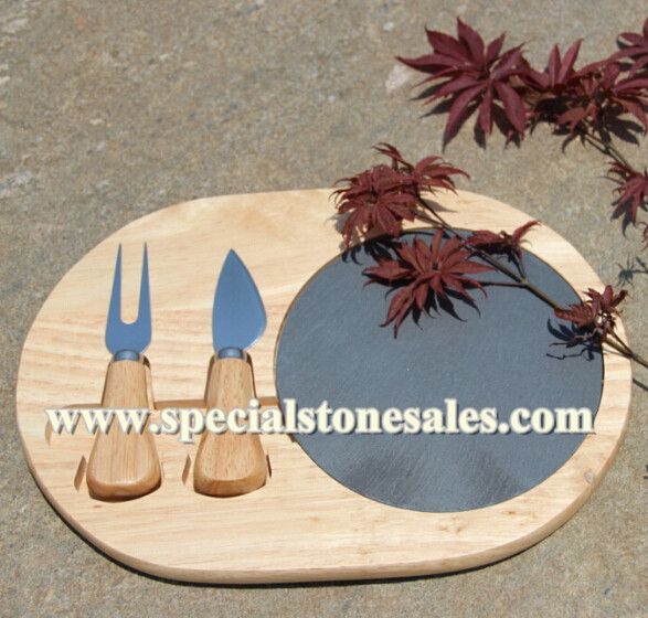 Pin On Natural Slate Serving Plates Dishes