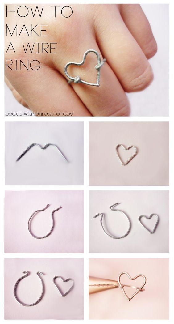 Cooki's World: Wire Rings: