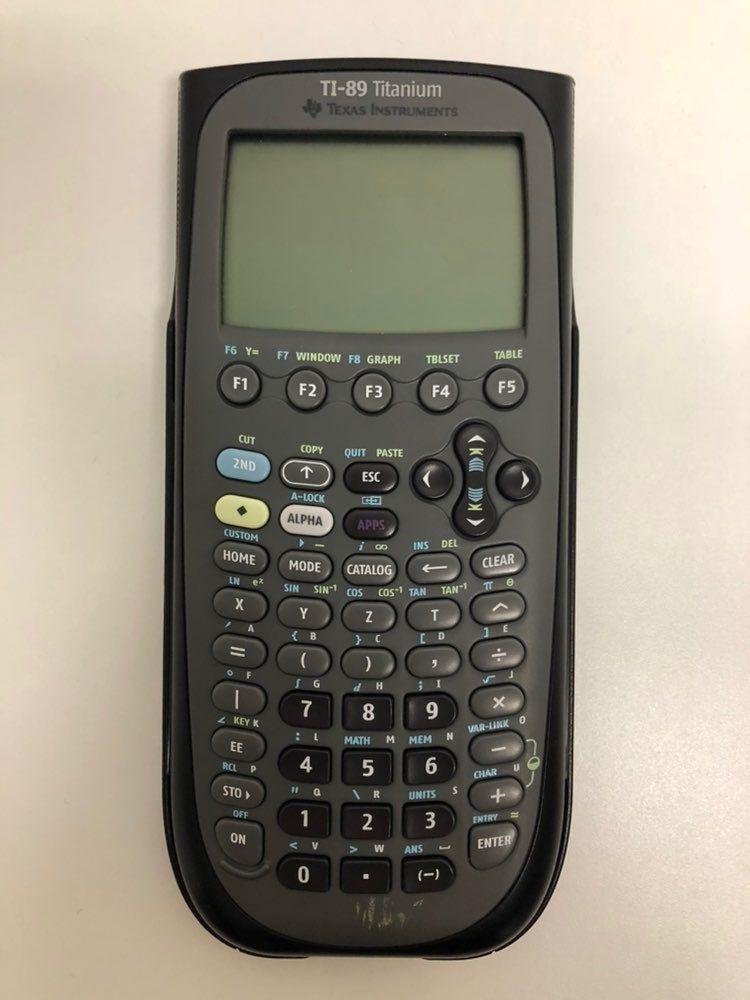 Texas Instruments 89 Titanium Graphing Calculator. Hardly