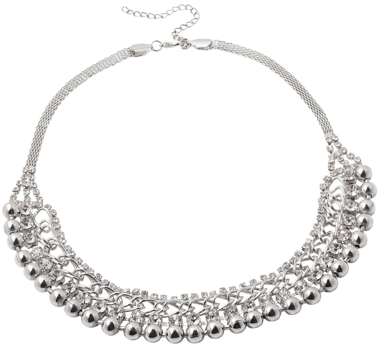 Bijou Brigitte  Kette - White Diamond