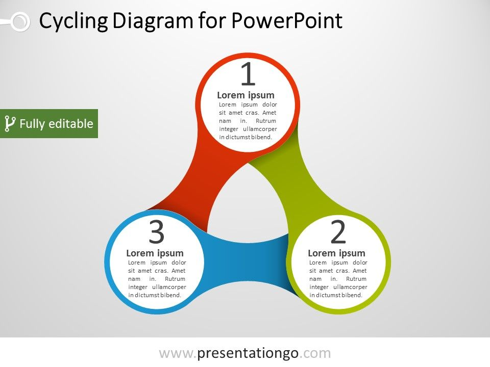 Triangular Powerpoint Diagram  PresentationgoCom  Diagram