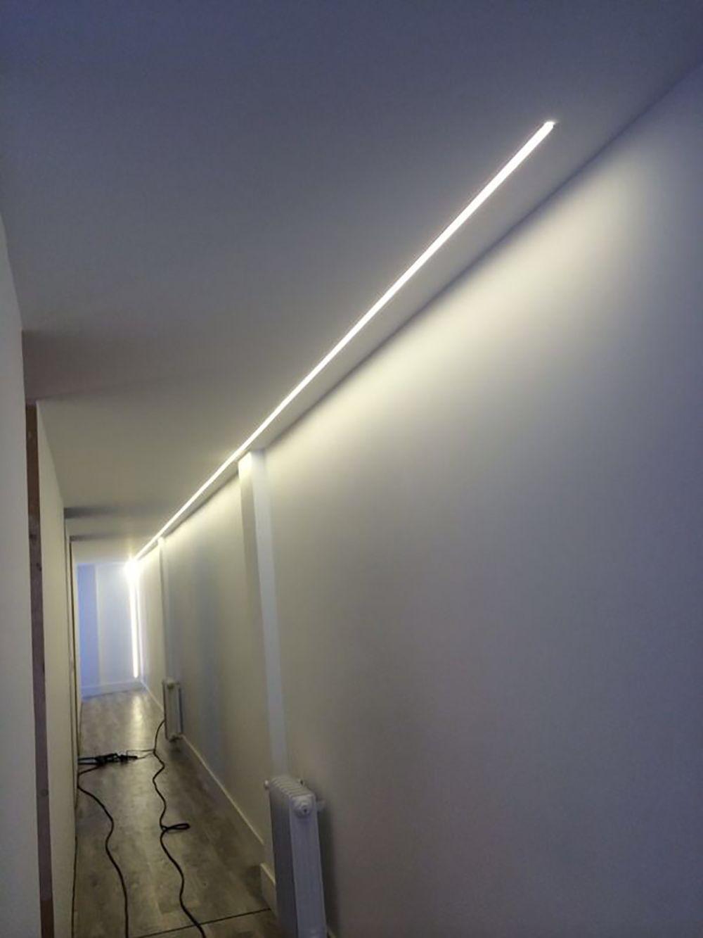 Ideas de decoracin e iluminacin con tiras de LEDs