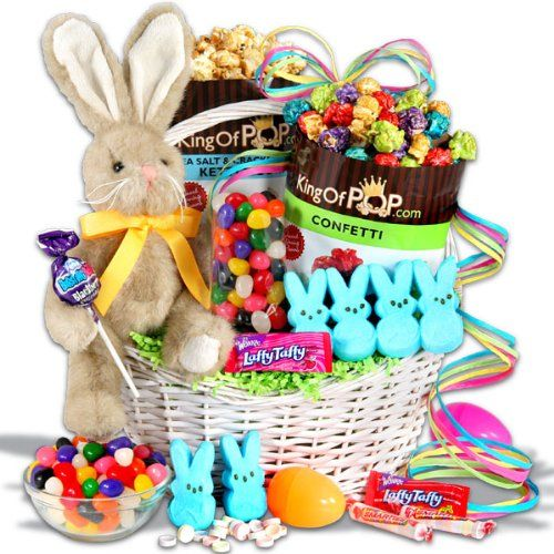 Classic easter bunny gift basket amazon grocery gourmet classic easter bunny gift basket amazon grocery gourmet food price negle Image collections