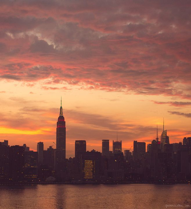 New York skyline / Garance Doré
