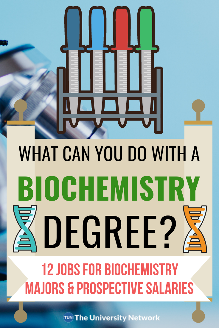 12 Jobs For Biochemistry Majors The University Network Biochemistry Major Biochemistry Medical Jobs
