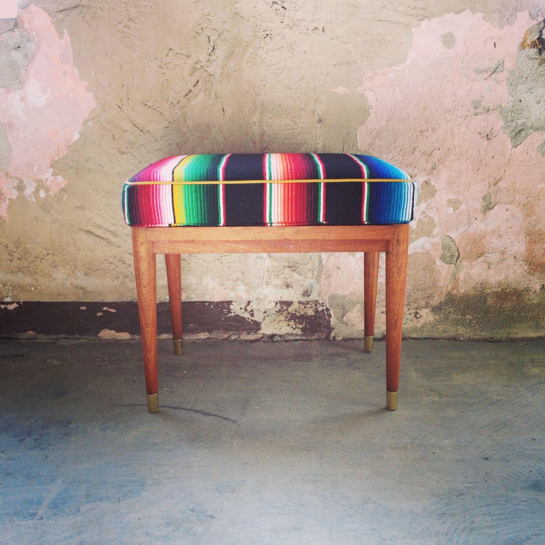Awesome zarape bench. SOLD. Reforme Design   Tijuana, Mexico ...
