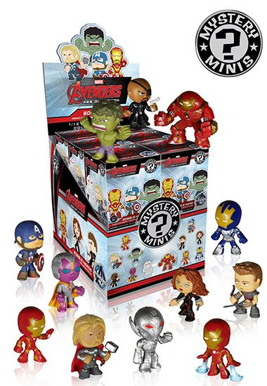 2015 Funko Avengers Age Of Ultron Mystery Minis Info List Funko Mystery Minis Mystery Minis Vinyl Figures