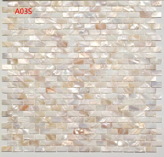 Note: Shipping fees too expressive,we dont accept return  If you have any concerns that these tiles will not be suitable for your particular application,  please buy a sample first to make sure. This will also show you the high quality of our product.please purchase sample to make sure.  The sample will be about 4 X 4 The link of sample : https://www.etsy.com/listing/506191882/tiles-sample-4-x-4-mother-of-pearl-shell?ref=listings_manager_grid   Applications : She...