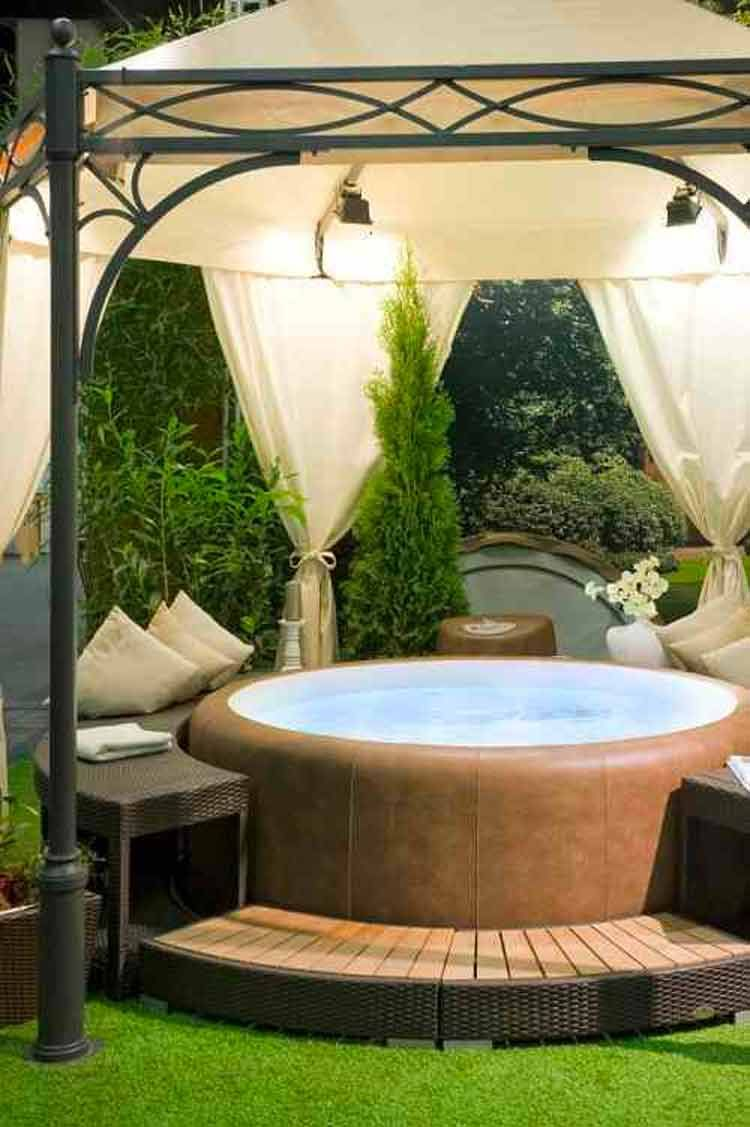 97+ Most Mesmerizing And Super Cozy Hot Tub Cover Ideas | Hot Tub
