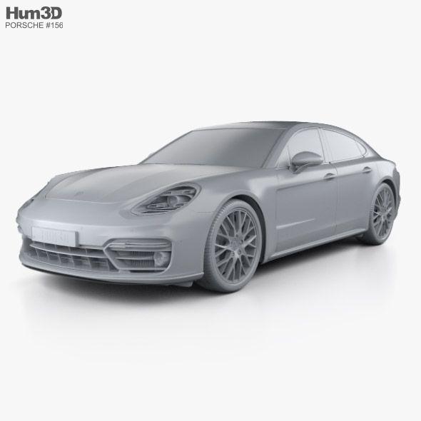 Porsche Panamera GTS With HQ Interior 2019 In 2020