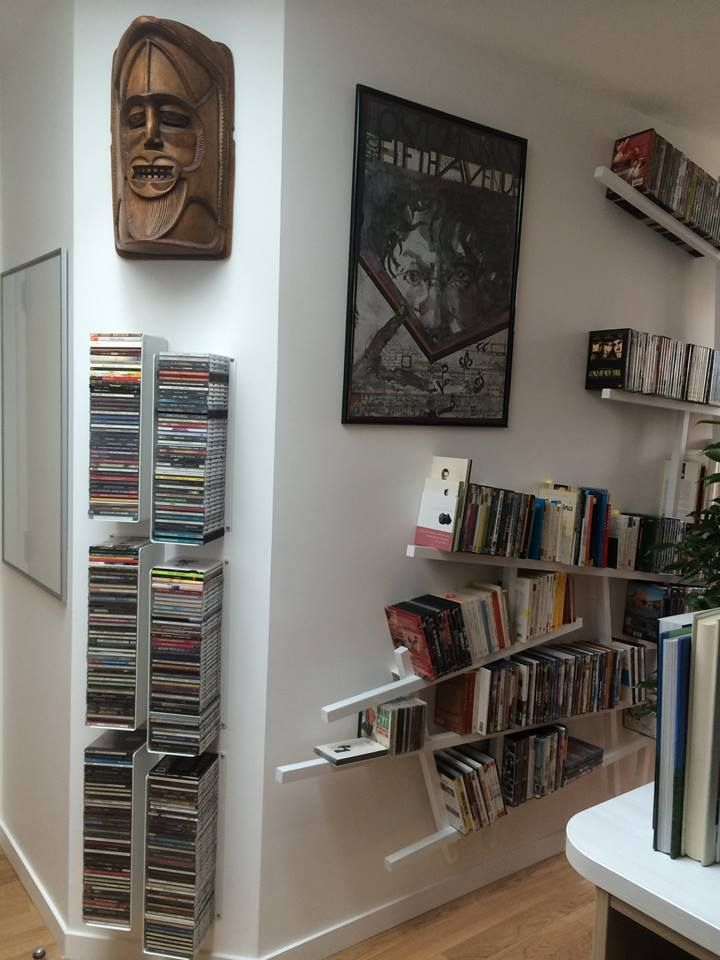 Étagère murale teebooks | - rangements créatifs - | pinterest ... - Meuble Cd Design