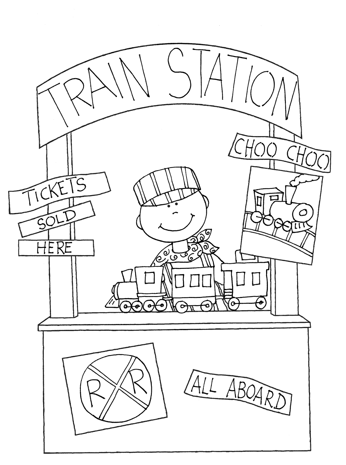 Bt Using The Power Of Communication To Make A Better World Train Station Digi Stamps Train