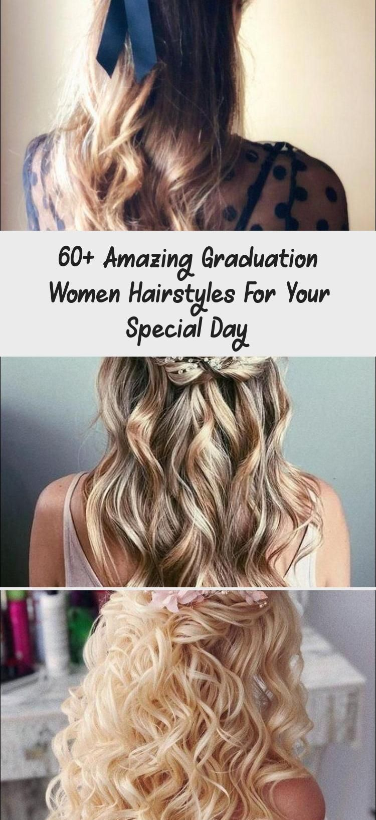 60+ amazing women Graduation Hairstyles for your special day – / Women Fashion Gala