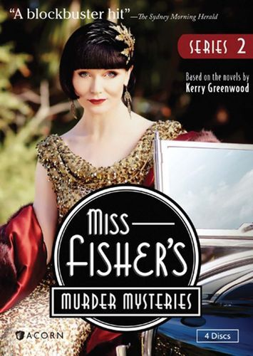 Miss Fisher's Murder Mysteries: Series 2 [4 Discs] [DVD] #bluray