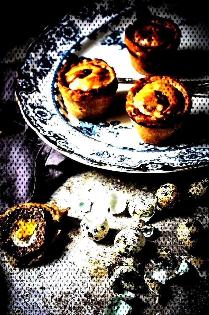 pork pies with quails eggs - twigg studios       ...You can find Quails and more on our website.por
