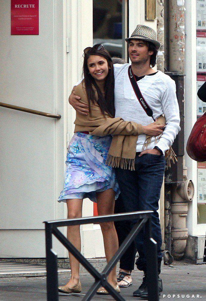 Nina Dobrev and Ian Somerhalder's relationship first went public when | Look Back at Ian and Nina's Best Moments | POPSUGAR Celebrity