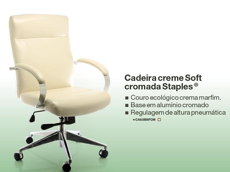 CADEIRA SOFT™ CREME STAPLES®