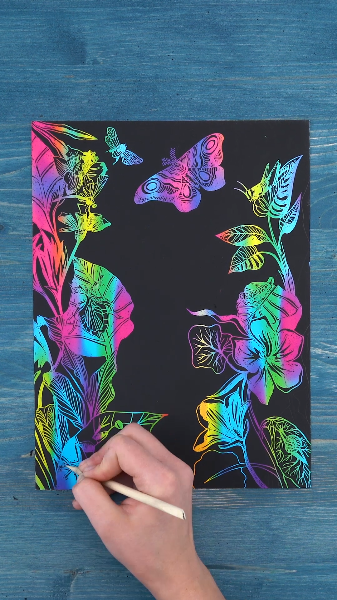 🔥Don't Miss This Deal🔥 Amazing 🌈Scratch Art Paper!🌈
