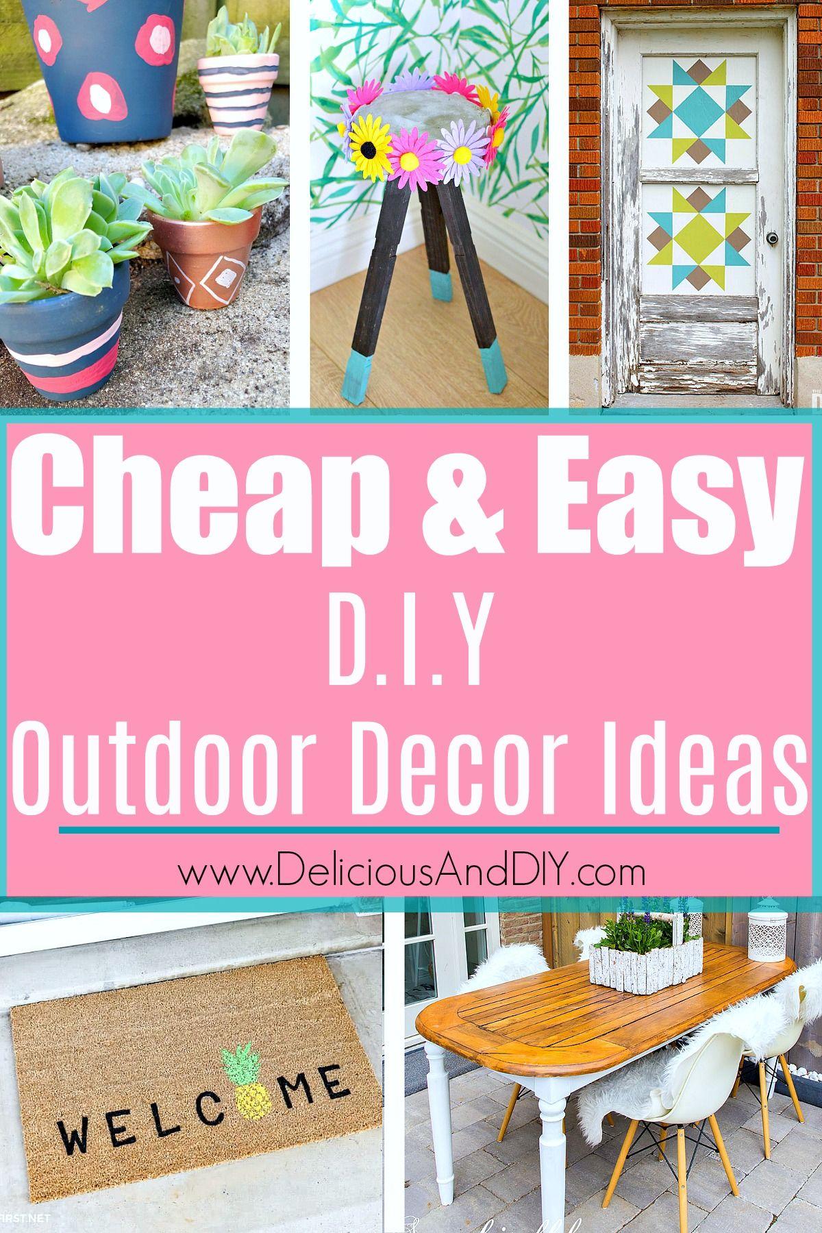 Backyard Decorating Ideas On A Budget