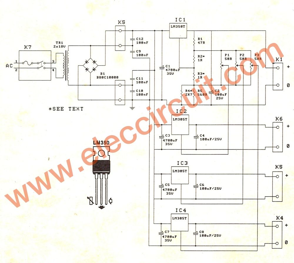 Pin by Godwin Mahade on Circuits | Power supply circuit, Voltage