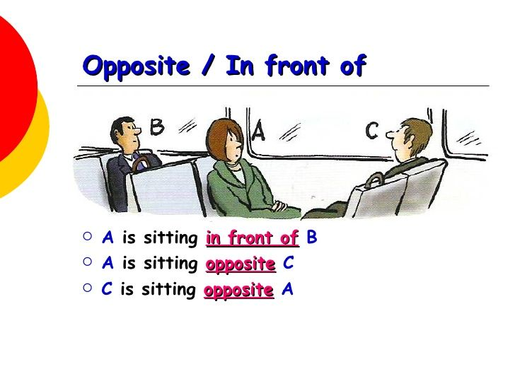 opposite preposition - Google Search | English | Pinterest ...