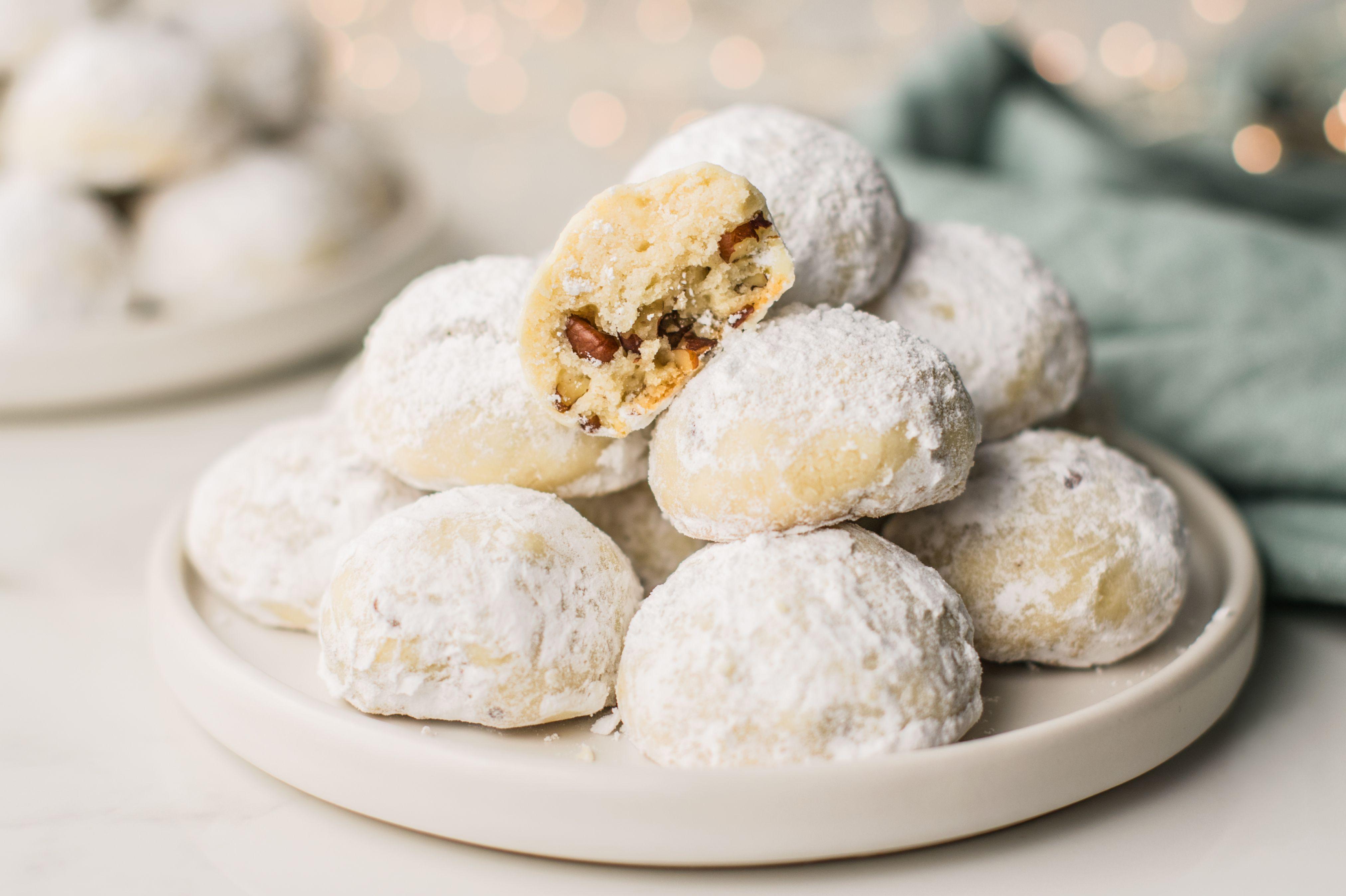 Polvorones Mexican Wedding Cookies Recipe Polvorones