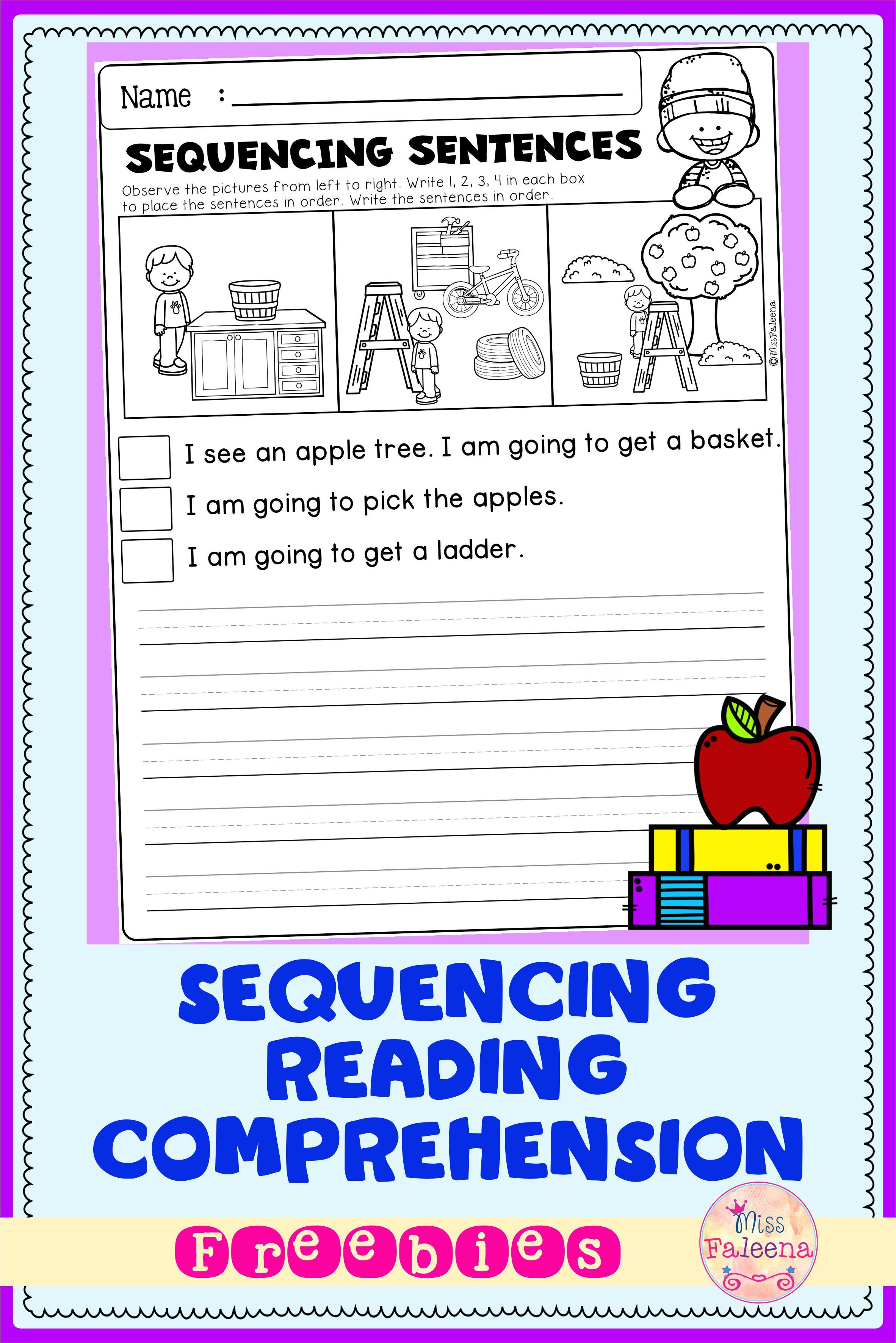 Free Sequencing Reading Comprehension Di