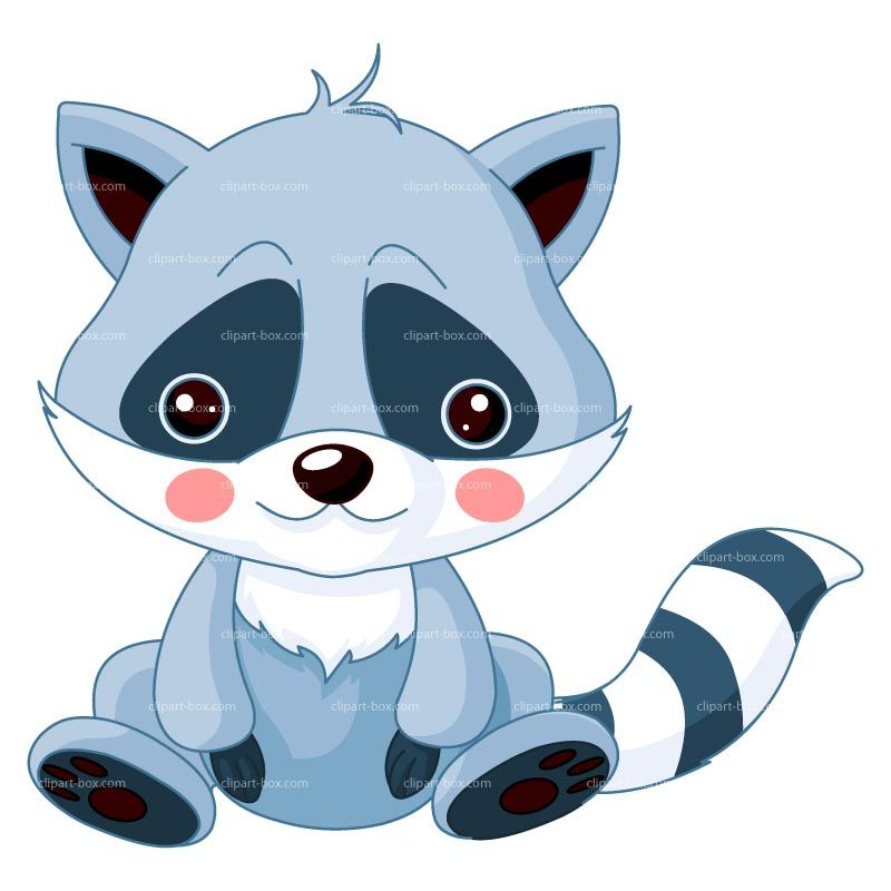 cartoon baby racoon norton safe search baby animal cartoon rh pinterest com racoon clip art raccoon clip art free images