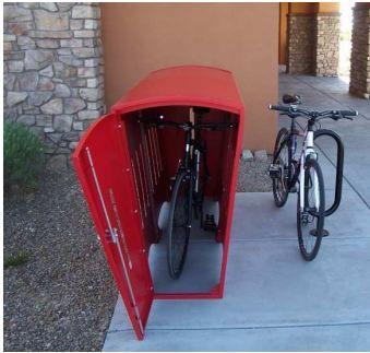 Single Bike Locker By Function First Bike Locker Garden Bike