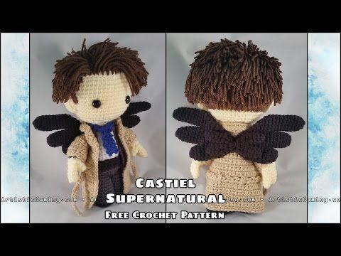Supernatural - Castiel - Free Crochet Pattern Addon • ArtisticGaming ...