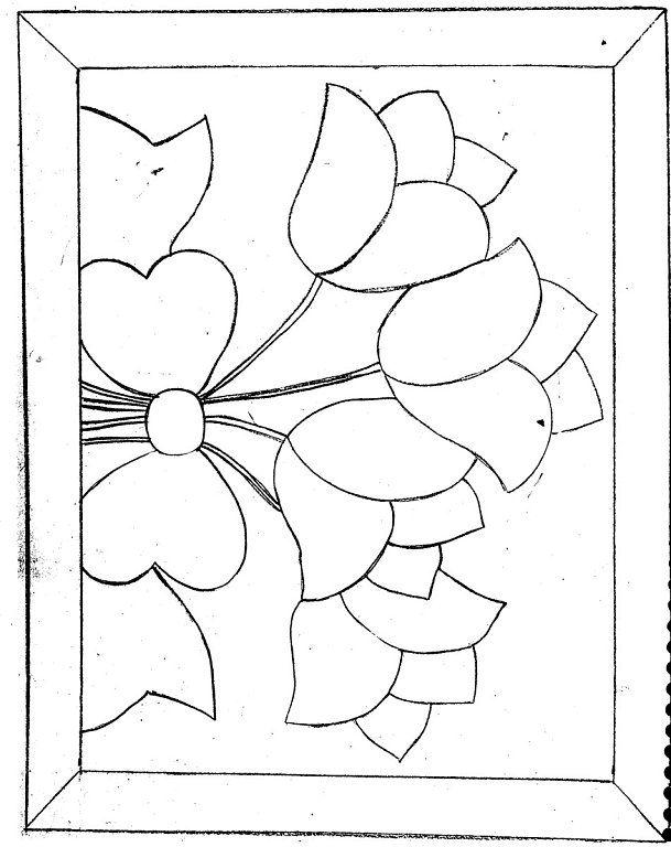 Moldes para patchwork sin aguja gratis - Imagui   patrones ...