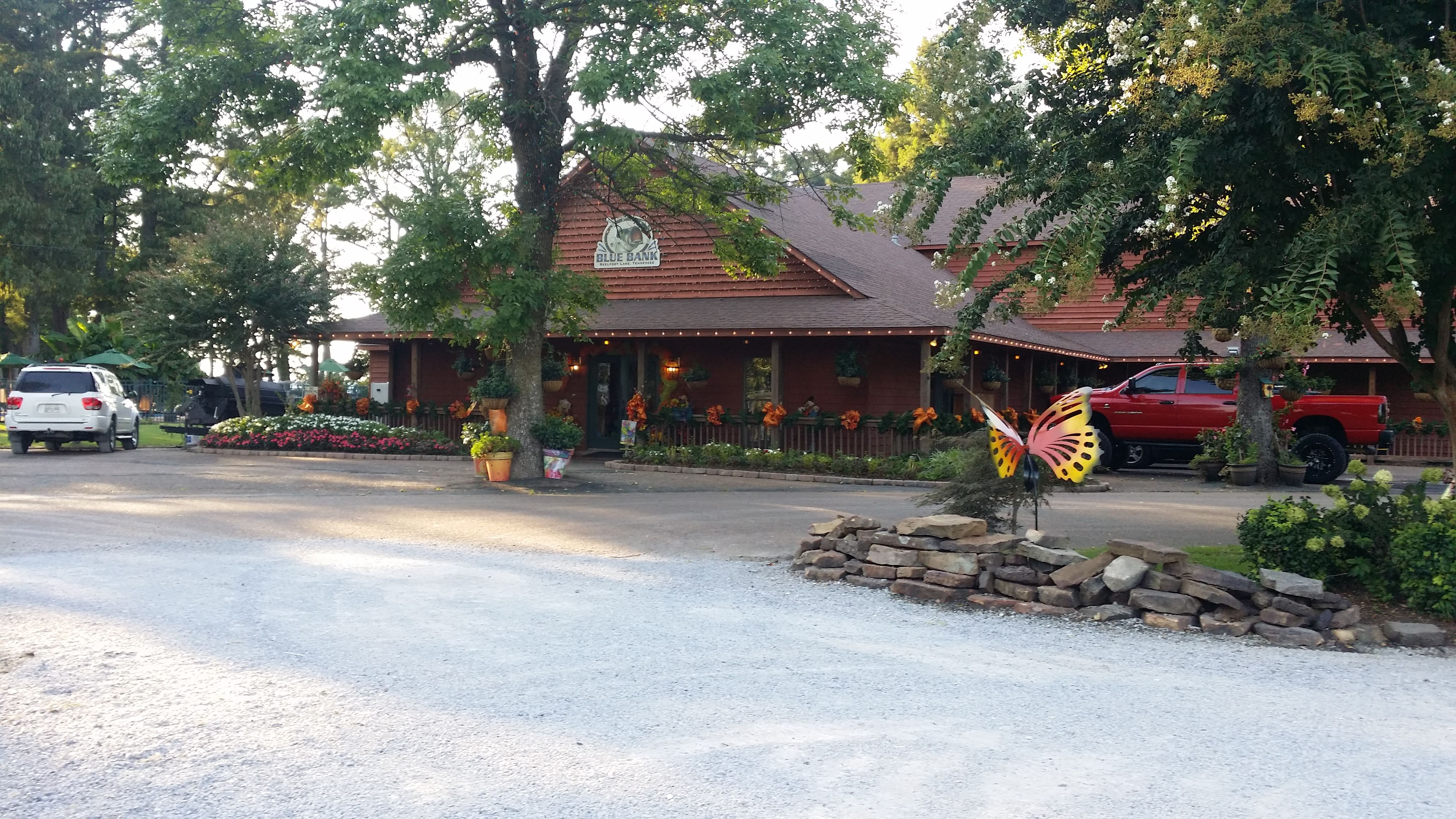Blue Bank Resort at Reelfoot Lake | Restaurants | Blue, Fish, Restaurant