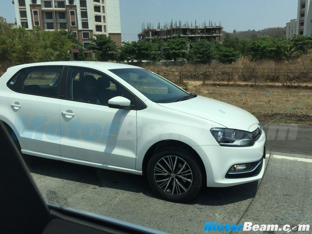 Volkswagen polo vivo facelift revealed -  Vw Polo Allstar Spied Ahead Of Its Indian Launch Cars Daily Updated Pinterest Cars