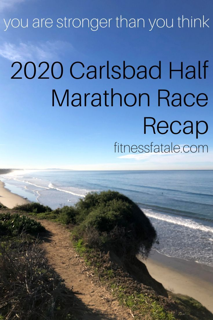 Discover the mental challenges I encountered during the 2020 Carlsbad Half Marathon Race and how I w...